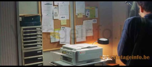 1980s JUMO desk lamp used as a prop in the 1999 film The Ninth Gate