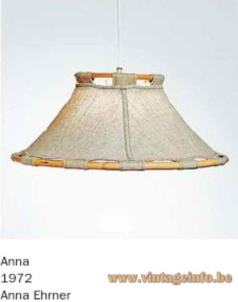 Atelje Lyktan Anna Table Lamp - Pendant Lamp - Catalogue Picture