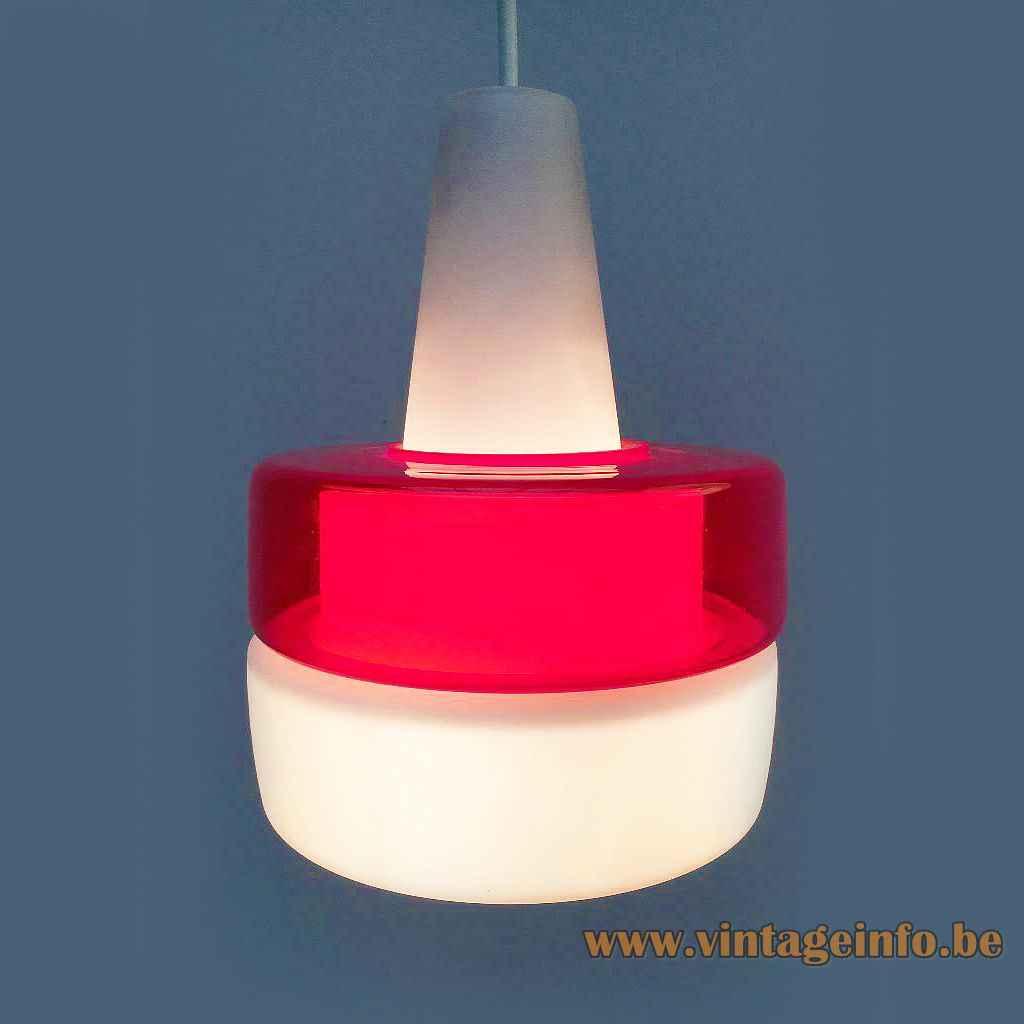 Peill and Putzler glass pendant light..