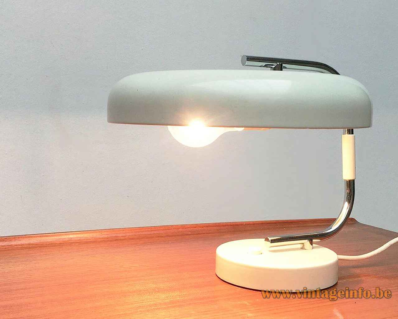 1960s Hustadt Leuchten Desk Lamp Vintageinfo All About Vintage Lighting