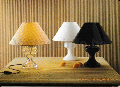 Ingo Maurer ML1 Table Lamp - Design M 1980 1981 Catalogue - All Versions