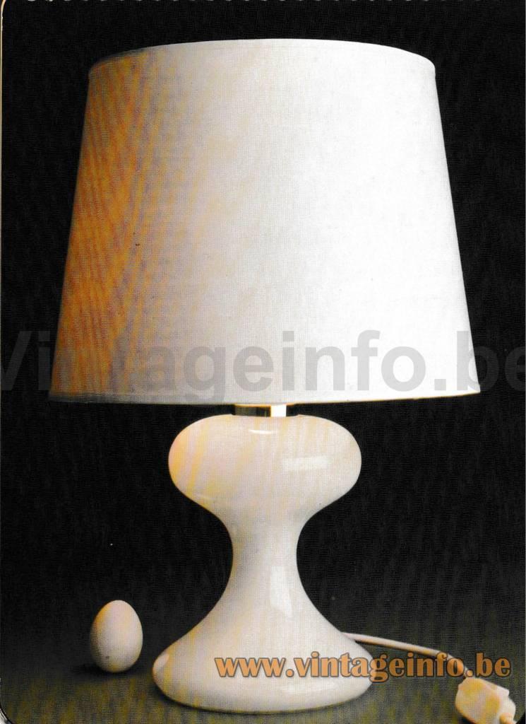 Ingo Maurer ML1 Table Lamp - Design M 1980 1981 Catalogue