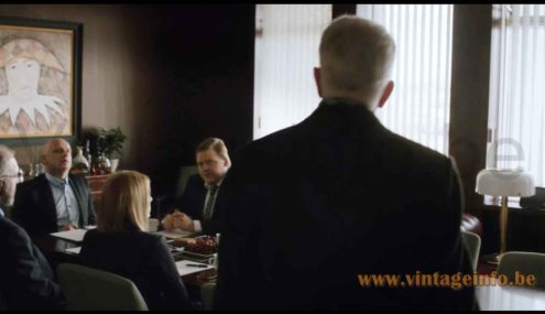 Ateljé Lyktan Knubbling table lamp used as a prop in the 2015 TV series Case S1E1