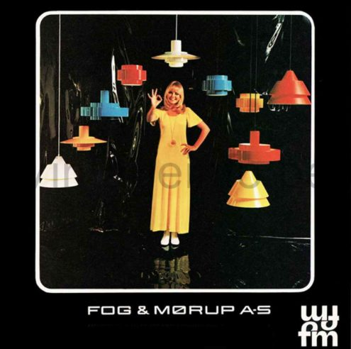 Fog & Mørup Zone Pendant Lamp - 1960s, 1970s, Design: Jo Hammerborg, Denmark - Catalogue Picture