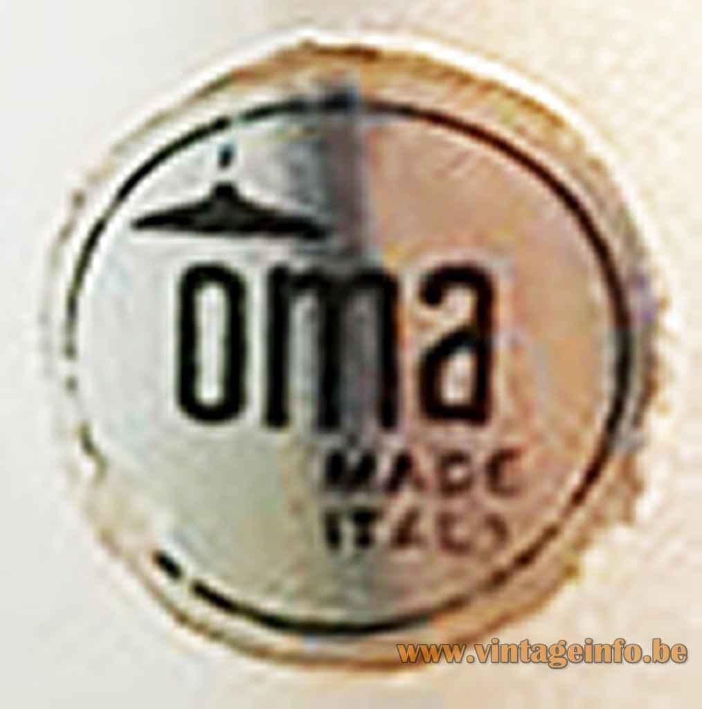 OMA Illuminazione label - Padua, Italy
