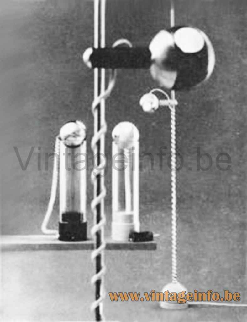 Staff Table Lamp 1214 - 1970s Catalogue Picture
