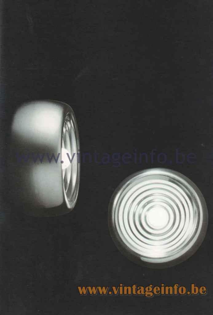 FLOS Padina Wall Or Ceiling Lamp - 1980 Catalogue Photo